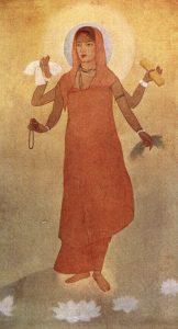 Bharat Mata by Abanindranath Tagore