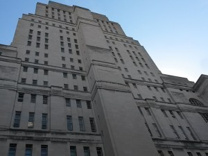 Facade of Senate House ( by Josh Allen, all rights reserved)